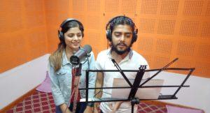 निशान र अस्मिताको आवाजमा चलचित्र 'संस्कार'को गीत रेकर्ड