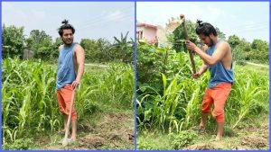 Read more about the article पुष्प खड्का लेख्छन्-'म आफू किसान हूनूमा गर्व लाग्छ'