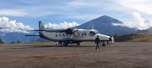 Read more about the article ताप्लेजुङको सुकेटार विमानस्थलमा जहाज अवतरण